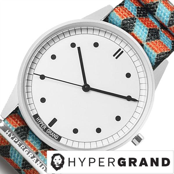 ハイパーグランド 腕時計 HYPERGRAND 時計 ハイパー グランド 時計 HYPER GRAND 腕時計 ハイパーグラウンド ゼロワン ナトー 01NATO メンズ レディース ホワイト NWH2RUBI 人気 新作 ブランド ナイロン ベルト シルバー オレンジ ブルー シンプル おしゃれ 送料無料