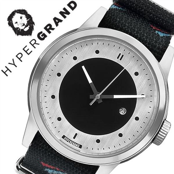 【10,450円引き】 ハイパーグランド 腕時計 HYPERGRAND 時計 ハイパー グランド 時計 HYPER GRAND 腕時計 ハイパーグラウンド マーベリック シリーズ ナトー MAVERICK SERIES NATO メンズ レディース シルバー NWM4AVIA 人気 ブランド ナイロン ベルト ブラック おしゃれ