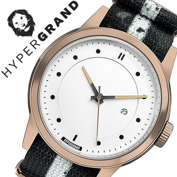 ハイパーグランド 腕時計 HYPERGRAND 時計 ハイパー グランド 時計 HYPER GRAND 腕時計 マーベリック シリーズ ナトー MAVERICK SERIES NATO メンズ レディース NWM4RUNW 人気 ブランド ナイロン ベルト ピンクゴールド シンプル 北欧 デザイナーズ ウォッチ 送料無料