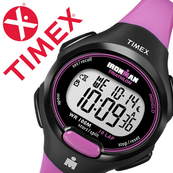 Timex watch TIMEX clock Timex clock TIMEX watch iron man 10 lap mid size  Ironman 10LAP Midsize men gray T5K525 regular article popularity brand  rubber
