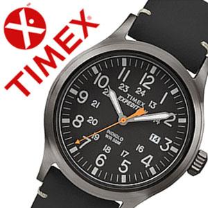 タイメックス腕時計 TIMEX時計 TIMEX 腕時計 タイメックス 時計 エクスペディション スカウト Expedition Scout メンズ ブラック TW4B01900 [正規品 革 ベルト 新品 ファッションウォッチ グレー][バーゲン プレゼント ギフト][おしゃれ 腕時計]