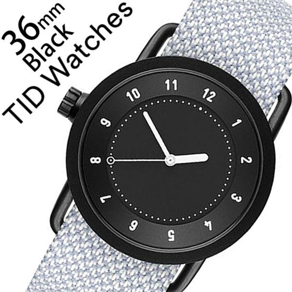 ティッドウォッチズ 腕時計 メンズ レディース 男女兼用 [TID watches] ブラック TID01-BK36-MINERAL [No.1 正規品 おしゃれ 北欧 シンプル 革 レザー バンド ブラック][クリスマス ギフト][プレゼント ギフト][おしゃれ腕時計]