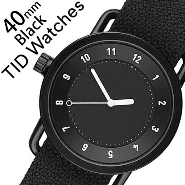 【5年保証対象】 ティッドウォッチズ ティッドウォッチ 腕時計 TIDWatches 時計 ティッド ウォッチ 時計 TID Watches 腕時計 クヴァドラ Kvadrat メンズ レディース TID01-BK40-COAL No.1 通販 新作 インスタ 北欧 シンプル 革 レザー ベルト ブラック 送料無料