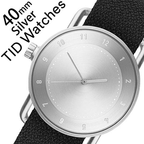 5年保証対象 ティッドウォッチズ ティッドウォッチ 腕時計 TIDWatches 時計 ティッド ウォッチ 時計 TID Watches 腕時計 クヴァドラ Kvadrat メンズ レディース TID02-SV40-COAL No.2 通販 新作 インスタ