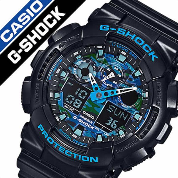 【5年保証対象】ジーショック 腕時計 ジーショック 時計 Gショック 時計 Gショック 腕時計 スペシャルカラー G SHOCK SPECIAL COLOR メンズ ブルー GA-100CB-1AJF 正規品 新作 人気 流行 トレンド ブランド 防水 ジーショック アナデジ タフネス 父の日 ギフト