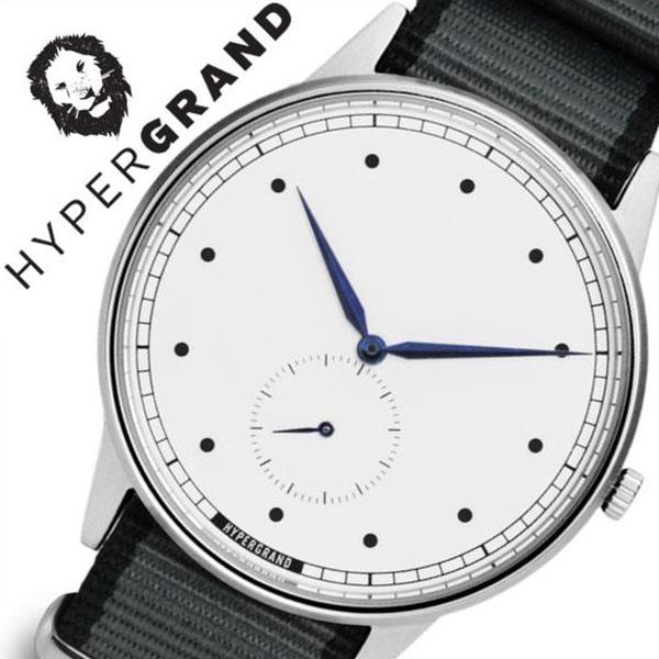 [当日出荷] ハイパーグランド 腕時計 HYPERGRAND 時計 ハイパー グランド 時計 HYPER GRAND 腕時計 シグネチャー ナトー SIGNATURE NATO メンズ レディース ホワイト NWSGSWGREY [ カジュアル ファッション オシャレ おしゃれ シンガポール 替えベルト時計 ][ 送料無料 ]