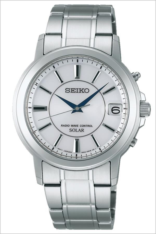 セイコー スピリット 腕時計[SEIKO SPIRIT 時計]セイコースピリット 時計[SEIKOSPIRIT 腕時計]セイコー スピリット時計[SEIKO SPIRIT時計]メンズ ホワイト SBTM219 [スピリッツ ソーラー 電波 ペア ウォッチ シルバー][バーゲン プレゼント ギフト]