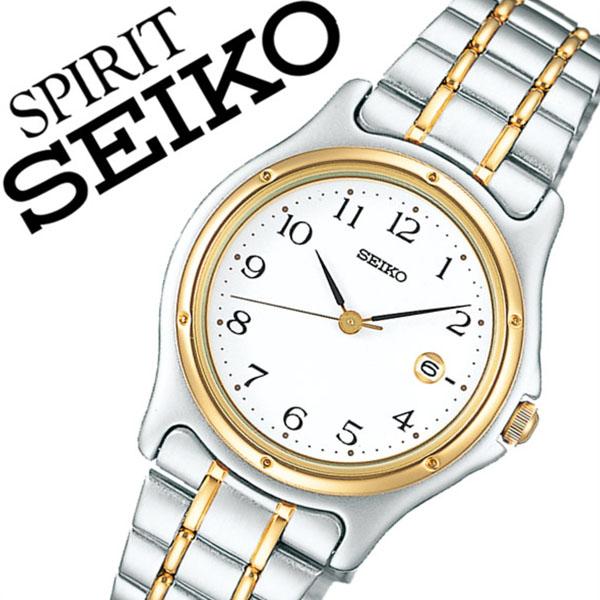 【5年保証対象】セイコー スピリット 腕時計 SEIKO SPIRIT 時計 セイコースピリット 時計 SEIKOSPIRIT 腕時計 セイコー スピリット時計 SEIKO SPIRIT時計 レディース ホワイト SSXV028 スピリッツ メタル ベルト シルバー ペア ウォッチ ゴールド ギフト 送料無料