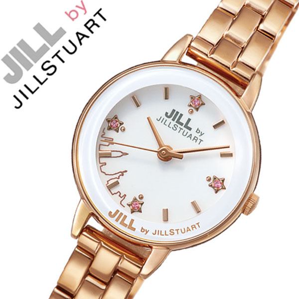 ジルバイジルスチュアート 腕時計[JILL BY JILL STUART 時計]ジル バイ ジルスチュアート 時計[JILLSTUART 腕時計]ジルスチュアート腕時計 ジルスチュアート時計 ニューヨーク ニューヨークレディース ホワイト NJAK002 [人気 かわいい][バーゲン プレゼント ギフト]
