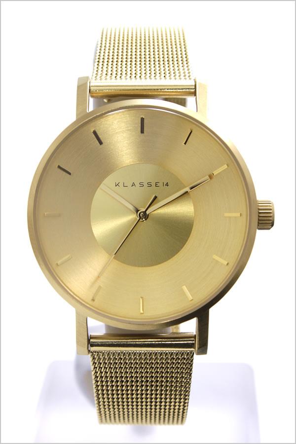 クラス14 腕時計[KLASSE14 時計]クラス フォーティーン 時計[KLASSE 14 腕時計]ヴォラーレ VOLARE MARIO NOBILE メンズ レディース ゴールド VO14GD002W [新作 人気 流行 ブランド クラッセ ボラーレ メタル ベルト][バーゲン プレゼント ギフト]
