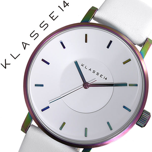 [当日出荷] クラス14 腕時計 KLASSE14 時計 クラス フォーティーン 時計 KLASSE 14 腕時計 ヴォラーレ VOLARE MARIO NOBILE メンズ レディース ホワイト VO16TI003M 新作 人気 流行 ブランド 個性的 シンプル クラッセ ボラーレ レザー ベルト 革 レインボー 送料無料