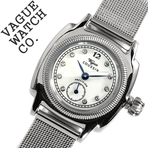 ヴァーグウォッチ 腕時計 [VAGUE WATCH Co.時計]( VAGUE WATCH Co. 腕時計 ヴァーグ ウォッチ コー 時計 ) クッサン ( COUSSIN ) レディース 腕時計 ホワイト CO-S-006 [正規品 人気 流行 ブランド 防水 メタル ベルト][ バーゲン プレゼント ギフト][おしゃれ 腕時計]
