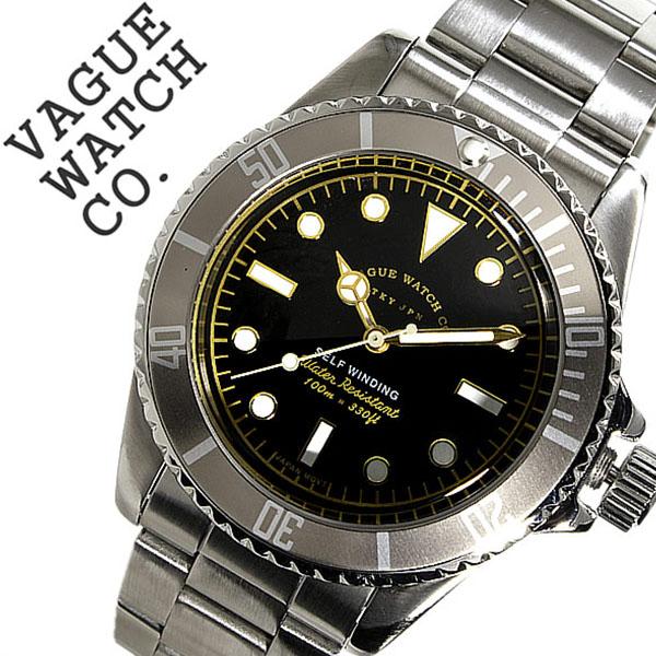 ヴァーグウォッチ 腕時計 [VAGUE WATCH Co.時計]( VAGUE WATCH Co. 腕時計 ヴァーグ ウォッチ コー 時計 ) グレーフェド ( GRY FAD ) メンズ 腕時計 ブラック GF-L-001 [正規品 人気 流行 ブランド 防水 メタル ベルト ナイロン シルバー][バーゲン プレゼント ギフト]