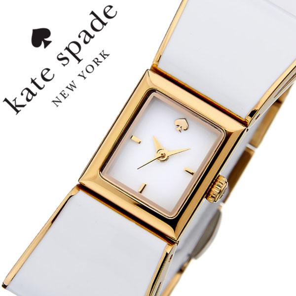 ケイトスペード 腕時計 [katespade時計]( kate spade 腕時計 ケイト スペード 時計 ) ケンマール ( Kenmare ) レディース ホワイト KSW1111 [メタル ベルト かわいい アナログ イエロー ゴールド リボン 型][バーゲン プレゼント ギフト]