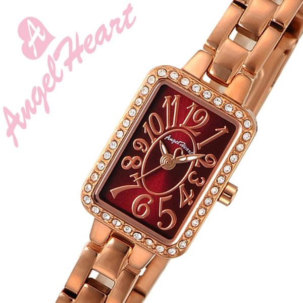 エンジェルハート 腕時計 [AngelHeart時計]( AngelHeart 腕時計 エンジェルハート 時計 ) トゥインクルハート ( Twinkle Heart ) レディース 腕時計 ボルドー TH16PR [アナログ ボルドー メタル ブレス ウォッチ][バーゲン プレゼント ギフト][おしゃれ 腕時計]