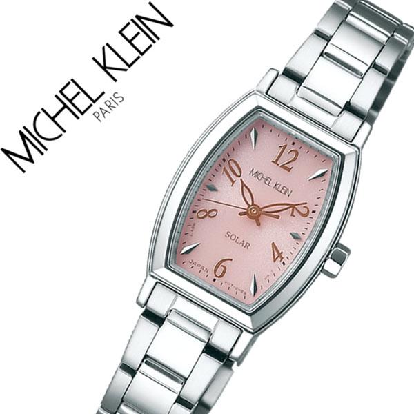 ミッシェルクラン 腕時計 [MICHELKLEIN時計]( MICHEL KLEIN 腕時計 ミッシェル クラン 時計 ) レディース 腕時計 ピンク AVCD029 [メタル ベルト 正規品 ソーラー かわいい SEIKO シルバー ローズ ゴールド][バーゲン プレゼント ギフト][おしゃれ 腕時計]