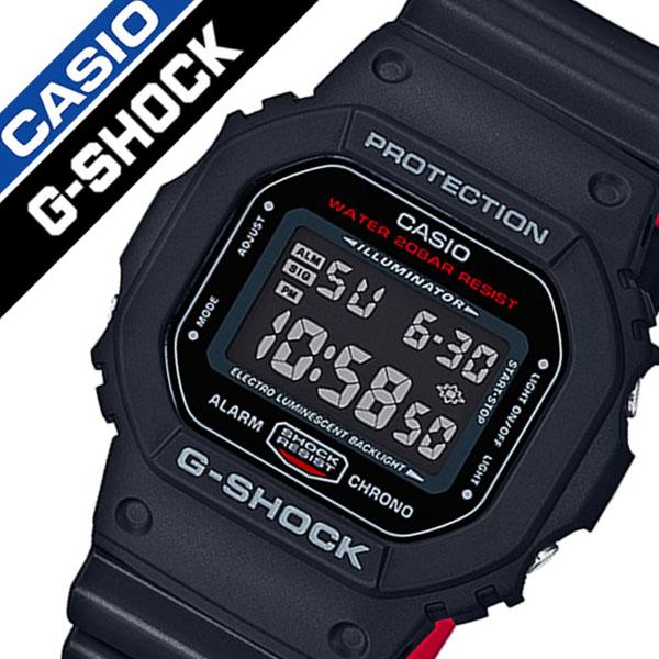 [当日出荷] 【5年保証対象】カシオ 腕時計 CASIO 時計 CASIO G-SHOCK 時計 カシオ ジーショック 腕時計 メンズ ブラック DW-5600HR-1JF デジタル 防水 液晶 ストップ ウォッチ レッド プレゼント 父の日 ギフト