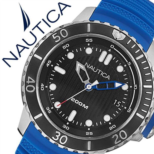 【5年保証対象】ノーティカ 腕時計 NAUTICA 時計 NMS DIVE STYLE DATE メンズ ブラック NAD18517G ラバー ベルト 防水 ダイバー 新作 ブランド ブルー シルバー スポーツ 人気 プレゼント 父の日 ギフト