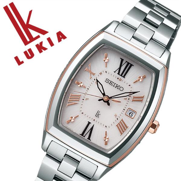 セイコー 腕時計 [SEIKO時計](SEIKO 腕時計 セイコー 時計) ルキア (LUKIA) レディース 腕時計 ピンク SSQW032 [メタル ベルト 正規品 ソーラー 電波 修正 シルバー ローズ ゴールド ピンクゴールド][バーゲン プレゼント ギフト][おしゃれ 腕時計]