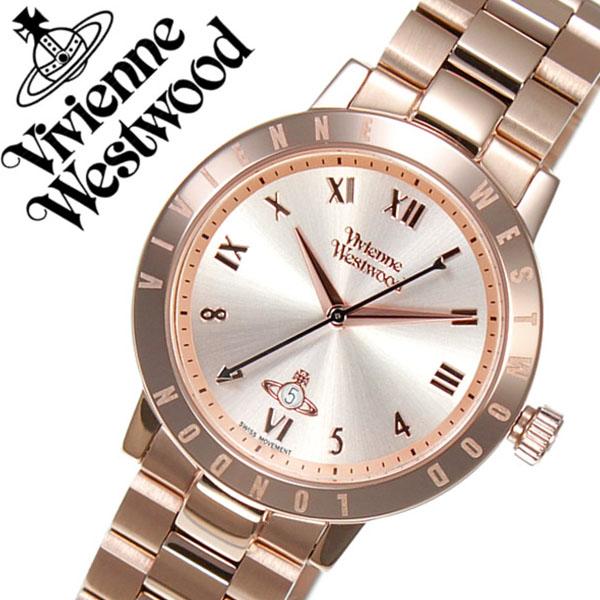 ヴィヴィアンウェストウッド 腕時計 VivienneWestwood 時計 ヴィヴィアン ウェストウッド 時計 Vivienne Westwood 腕時計 ヴィヴィアンウエストウッド レディース ピンク VV152RSRS メタル ベルト オーブ モチーフ オール ローズ ゴールド ピンクゴールド 送料無料