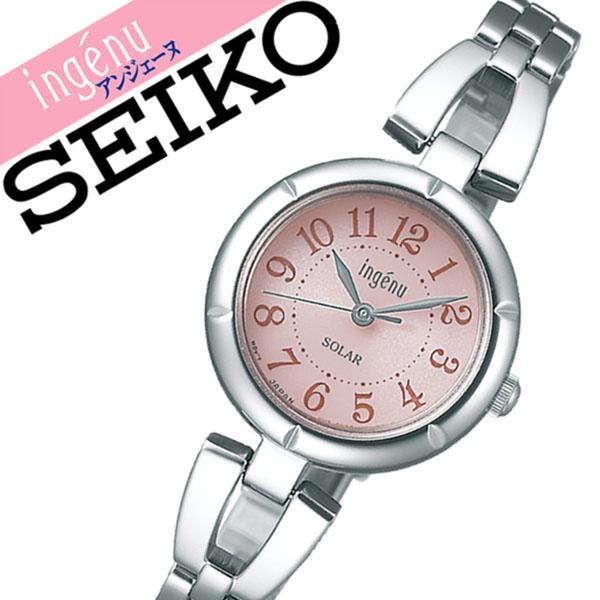 【延長保証対象】セイコー アルバ アンジェーヌ 腕時計 SEIKO ALBA ingene 時計 セイコーアルバ SEIKOALBA アルバアンジェーヌ albaingene アンジェーン レディース ピンク AHJD092 メタル ベルト 正規品 ソーラー シルバー 送料無料