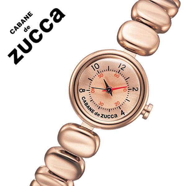 カバンドズッカ 腕時計 [CABANEdeZUCCA時計]( CABANE de ZUCCA 腕時計 カバン ド ズッカ 時計 ) コーヒー ビーンズ ( Coffee Beans ) レディース 腕時計 ピンク AJGK074 [メタル ベルト 正規品 SEIKO ブレス ウォッチ ローズ ゴールド][バーゲン プレゼント ギフト]