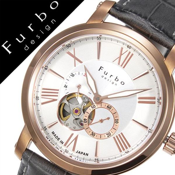 フルボデザイン 腕時計 [Furbodesign時計]( Furbo design 腕時計 フルボ デザイン 時計 ) メンズ 腕時計 シルバー F5026GYSET [革 ベルト 正規品 機械式 自動巻 メカニカル オートマチック セット イタリア][バーゲン プレゼント ギフト][おしゃれ 腕時計]