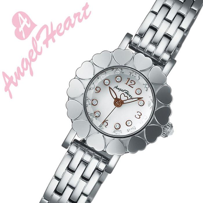 エンジェルハート腕時計 AngelHeart時計 Angel Heart 腕時計 エンジェル ハート 時計 マイエンジェル My Angel レディース ホワイトパール MA23SW [正規品 かわいい 人気 女子 メタル ベルト バンド シルバー][バーゲン プレゼント ギフト][おしゃれ 腕時計]