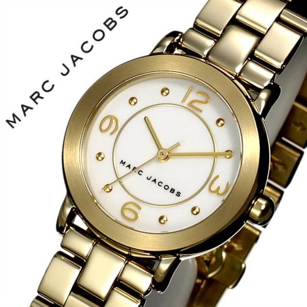 マークジェイコブス腕時計 MARCJACOBS時計 MARC JACOBS 腕時計 マーク ジェイコブス 時計 ライリー RILEY レディース ホワイト MJ3473 [人気 新作 流行 ブランド 防水 メタル ベルト ギフト バーゲン プレゼント ゴールド][おしゃれ 腕時計]