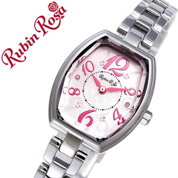 80a1d476ec ルビンローザ 時計 レディース 女性 [Rubin Rosa] 腕時計 ピンク R018SOLSPK [新作 人気 ブランド かわいい