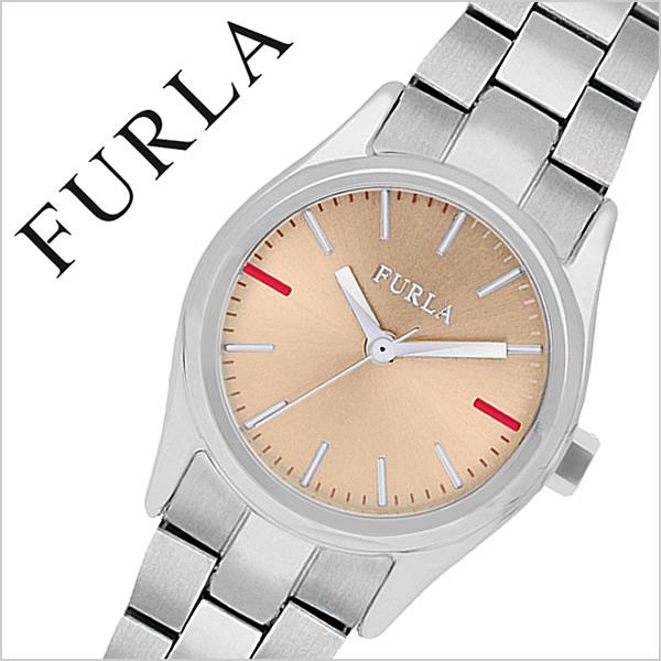 フルラ腕時計 FURLA時計 FURLA 腕時計 フルラ 時計 エヴァ EVA 25mm レディース ローズ R4253101517 [人気 新作 流行 ブランド イタリア 女性 防水 メタル ベルト ギフト バーゲン プレゼント シルバー][おしゃれ 腕時計]