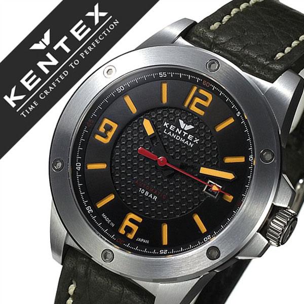 【5年保証対象】ケンテックス 腕時計 KENTEX 時計 ケンテックス 時計 KENTEX 腕時計 ランドマン アドベンチャー LANDMAN ADVENTURE メンズ ブラック S763X-04 正規品 人気 新作 機械式 自動巻 防水 日本製 限定品 レザー ベルト 革 プレゼント 父の日 ギフト