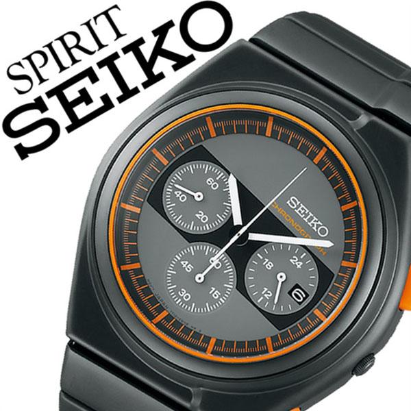 セイコー 腕時計 [SEIKO時計]( SEIKO 腕時計 セイコー 時計 ) スピリット スマート ( SPIRIT SMART ) メンズ 腕時計 グレー SCED053 [メタル ベルト 正規品 防水 クオーツ 限定 1500本 ブラック][バーゲン プレゼント ギフト][おしゃれ 腕時計]