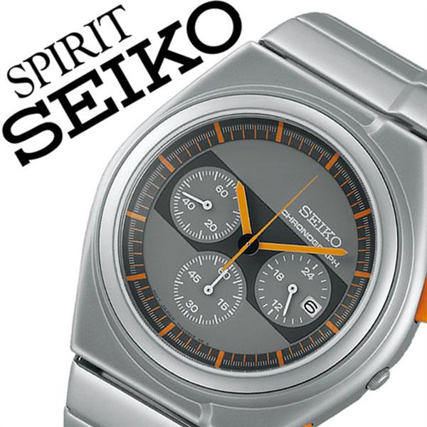 セイコー 腕時計 [SEIKO時計]( SEIKO 腕時計 セイコー 時計 ) スピリット スマート ( SPIRIT SMART ) メンズ 腕時計 グレー SCED057 [メタル ベルト 正規品 防水 クオーツ 限定 1000本 シルバー][プレゼント バーゲン][おしゃれ 腕時計]