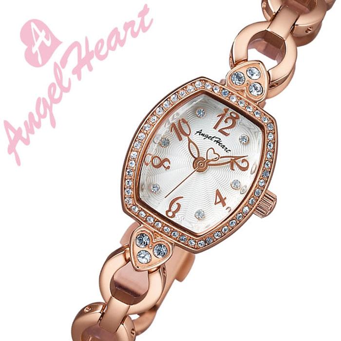エンジェルハート腕時計 AngelHeart時計 Angel Heart 腕時計 エンジェル ハート 時計 スターライト StarLight レディース ホワイト SL18PS [正規品 かわいい 人気 女子 メタル ベルト バンド ピンクゴールド][バーゲン プレゼント ギフト][おしゃれ 腕時計]
