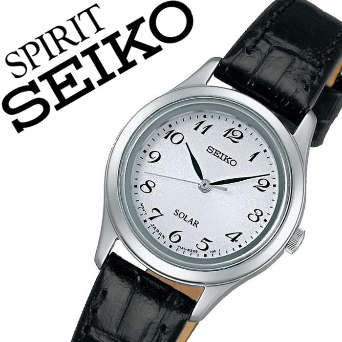 【延長保証対象】セイコー 腕時計 SEIKO 時計 セイコー 時計 SEIKO 腕時計 スピリット SPIRIT レディース ホワイト STPX037 ペアウォッチ ペアモデル ソーラー時計 定番 人気 ビジネス フォーマル シック シンプル 送料無料