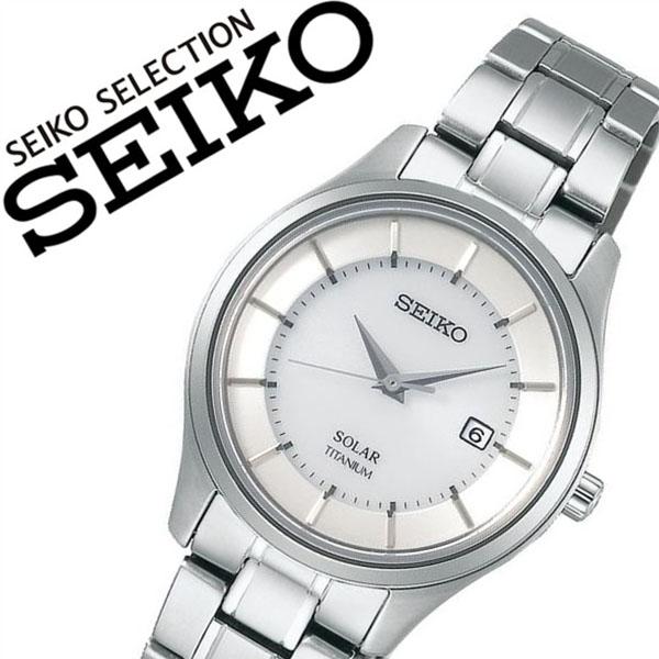 【5年保証対象】セイコー 腕時計 SEIKO 時計 セイコー 時計 SEIKO 腕時計 セイコーセレクション SEIKO SELECTION レディース シルバー STPX041 正規品 ペアモデル ソーラー 軽量 シルバー メタル ベルト 送料無料