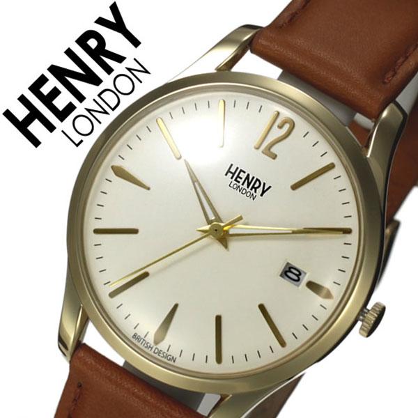 ヘンリーロンドン ベルト 腕時計 HENRY 時計 革 HENRY [人気 LONDON 腕時計 ヘンリー ロンドン 時計 ウェストミンスター メンズ レディース ホワイト HL39-S-0012 [人気 新作 ブランド イギリス 防水 シンプル 革 レザー ベルト ブラウン ゴールド], 子持村:6015ff83 --- idelivr.ai