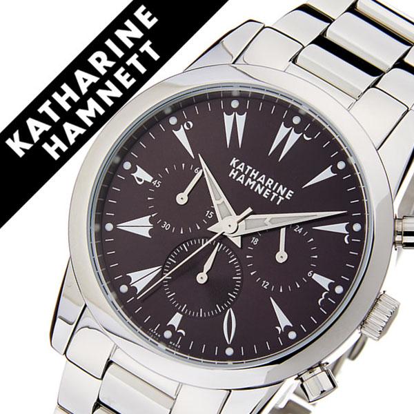 5f3d6f0d41 キャサリンハムネット腕時計 KATHARINE HAMNETT 腕時計 キャサリン ハムネット 時計 クロノグラフ 5 CHRONOGRAPH V