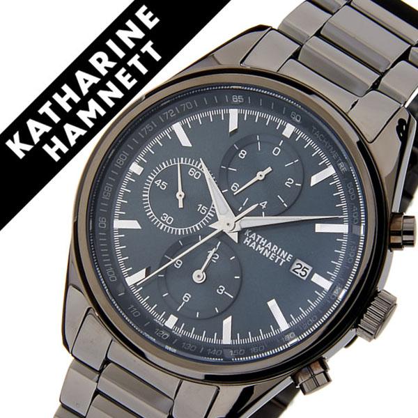 4ff437d14d キャサリンハムネット腕時計 KATHARINE HAMNETT 腕時計 キャサリン ハムネット 時計 クロノグラフ 7 CHRONOGRAPH VII  メンズ モスグリーン KH24D3-B94 [正規品 人気 ...