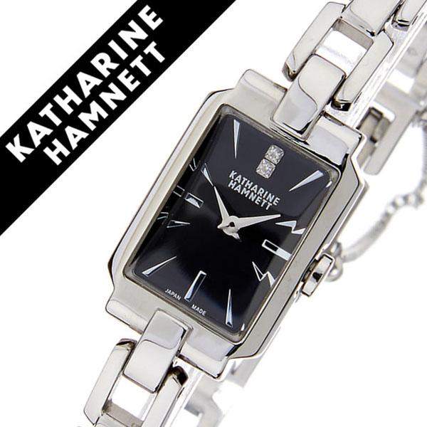 キャサリンハムネット腕時計 KATHARINE HAMNETT 腕時計 キャサリン ハムネット 時計 デコ 3 DECO III レディース ブラック KH80D5-B38 [正規品 人気 新作 ブランド トレンド おすすめ 高級 イギリス 女性 アンティーク ファッション メタル ベルト]