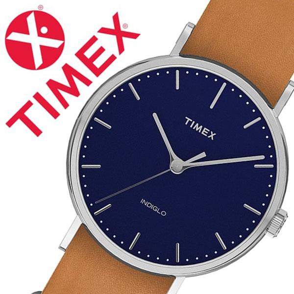 【5年保証対象】タイメックス 腕時計 TIMEX 時計 タイメックス 時計 TIMEX 腕時計 ウィークエンダー フェアフィールド Weekender Fairfield 41mm メンズ ネイビー S-TW2P97800 新作 人気 ブランド アンティーク シンプル カジュアル レザー ベルト 革 ブラウン 父の日 ギフト