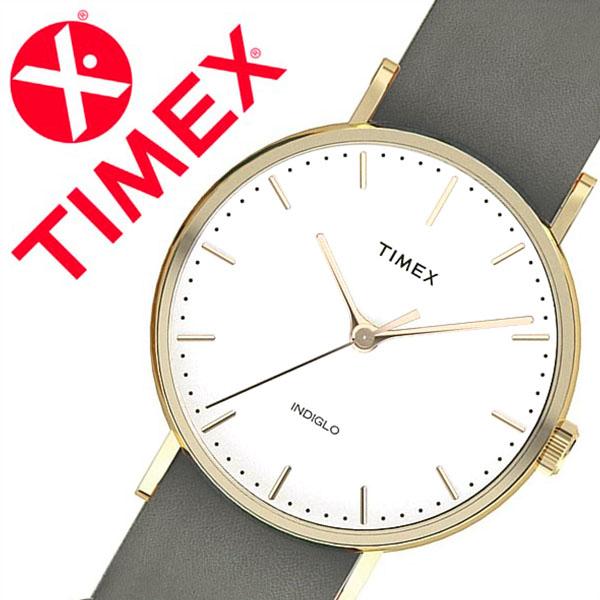 【5年保証対象】タイメックス 腕時計 TIMEX 時計 タイメックス 時計 TIMEX 腕時計 ウィークエンダー フェアフィールド Weekender Fairfield 37mm メンズ レディース ホワイト S-TW2P98500 人気 ブランド アンティーク カジュアル レザー ベルト 革 グレー 送料無料