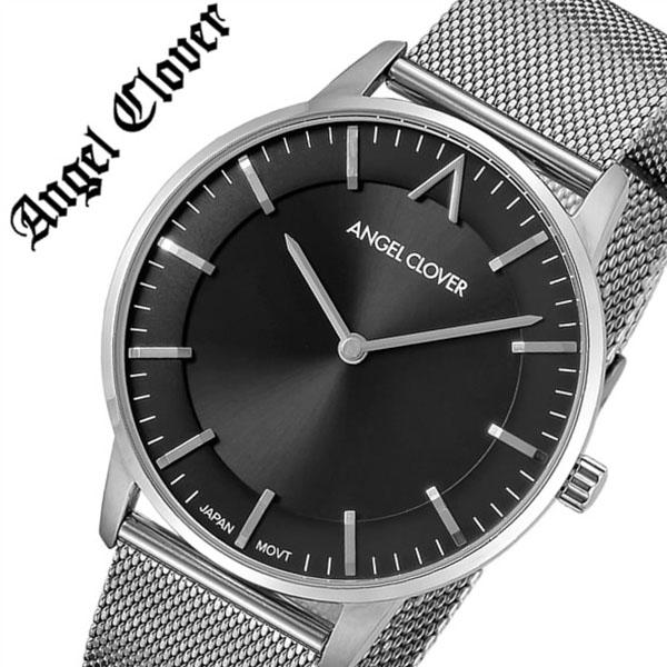 エンジェルクローバー腕時計 AngelClover時計 Angel Clover 腕時計 エンジェル クローバー 時計 ゼロ Zero メンズ グレー ZE40SGRY [正規品 人気 流行 ブランド 防水 メタル ベルト バーゲン プレゼント ギフト][在庫限り]