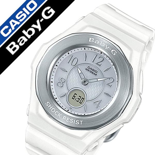 【5年保証対象】カシオ 腕時計 CASIO 時計 カシオ 時計 CASIO 腕時計 ベビージー Baby-G レディース グレー BGA-1050-7BJF 正規品 人気 ブランド 防水 アナデジ ベイビーG 丈夫 プレゼント ギフト ホワイト 送料無料