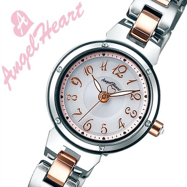 エンジェルハート腕時計 AngelHeart時計 Angel Heart 腕時計 エンジェル ハート 時計 クリスタルブルーム Crystal Bloom レディース シルバー CB22RSW [正規品 人気 流行 ブランド 防水 かわいい バーゲン プレゼント ギフト メタル ベルト][おしゃれ 腕時計]