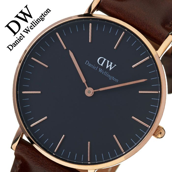 Daniel Wellington watch DanielWellington clock Daniel Wellington classical music black Bristol Classic Black 36mm men's lady's black DW00100137 popularity ...