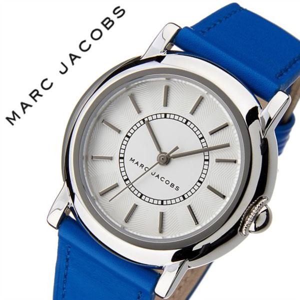 マークジェイコブス腕時計 MARCJACOBS時計 MARC JACOBS 腕時計 マーク ジェイコブス 時計 コートニー COURTNEY レディース ホワイト MJ1451 [人気 新作 流行 ブランド 防水 マーク バイ マーク ジェイコブス ギフト バーゲン プレゼント ブルー シルバー]