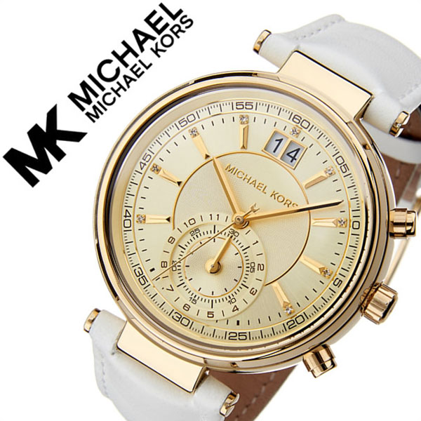 91cd22cd2aab Michael Kors watch MICHAELKORS clock Michael Kors clock MICHAEL KORS watch  Sawyer SAWYER Lady s gold MK2528 popular latest trendy brand MK  waterproofing ...