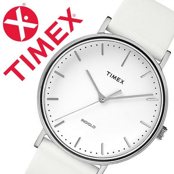 【5年保証対象】タイメックス 腕時計 TIMEX 時計 タイメックス 時計 ウィークエンダー フェアフィールド WEEKENDER FAIRFIELD 41MM メンズ ホワイト S-TW2R26100 人気 トレンド ブランド カジュアル ファッション シンプル 革 レザー ベルト ホワイト 父の日 ギフト